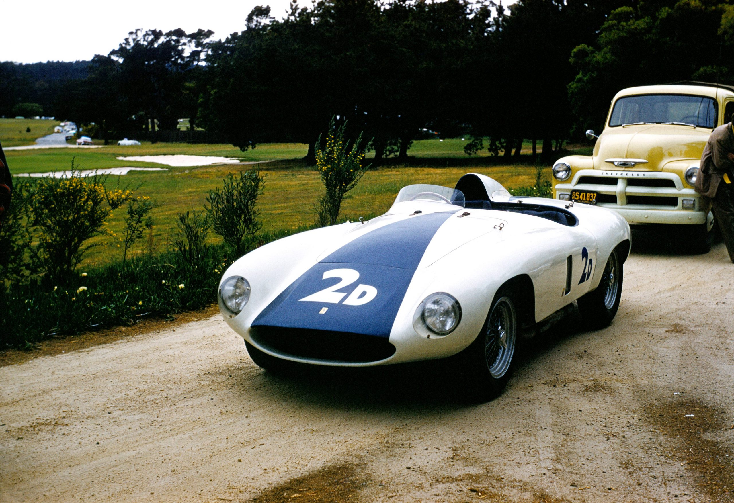 Phil Hill Ferrari 1955 Pebble Beach