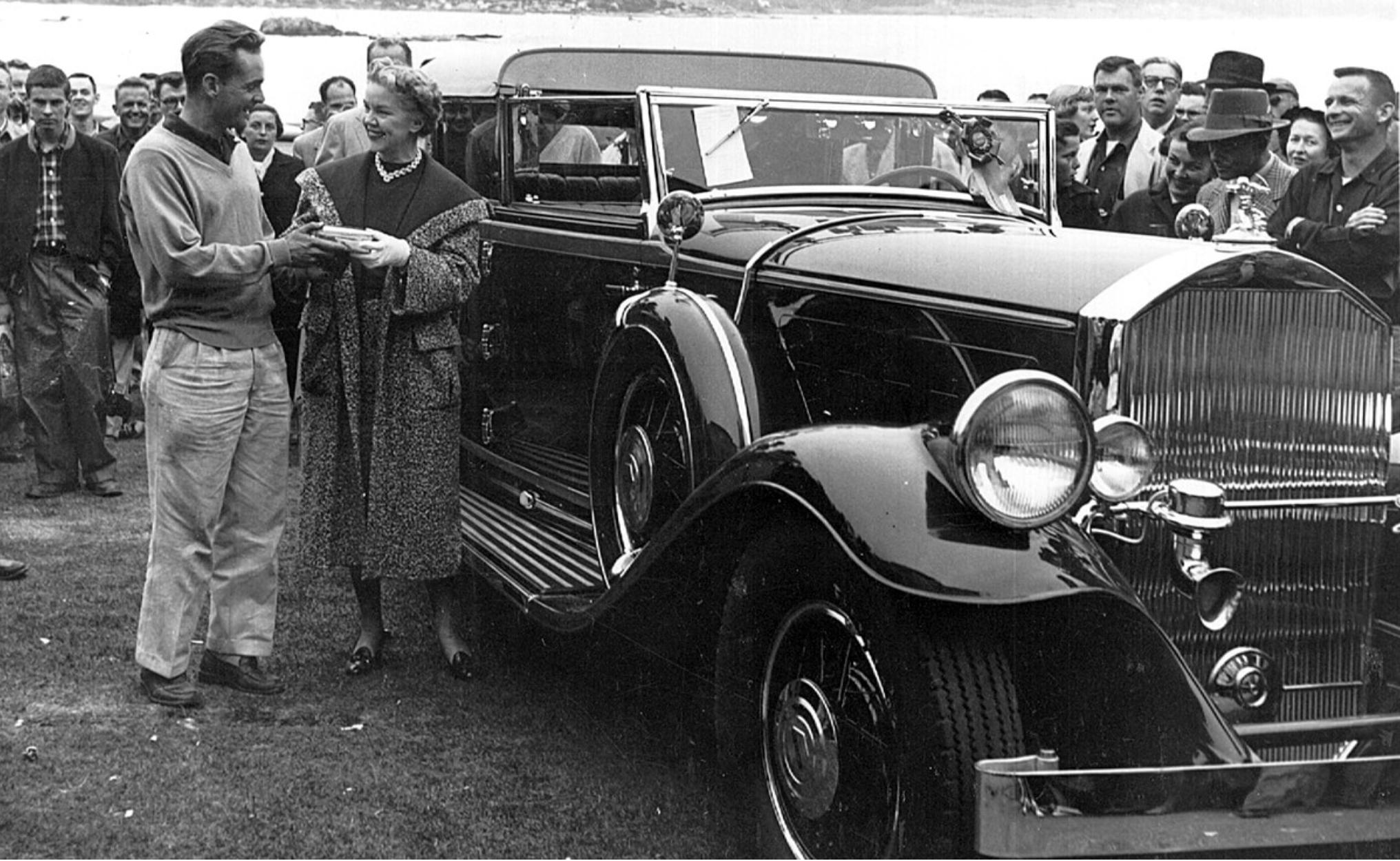 Phil Hill Pierce-Arrow 1955 Pebble Beach