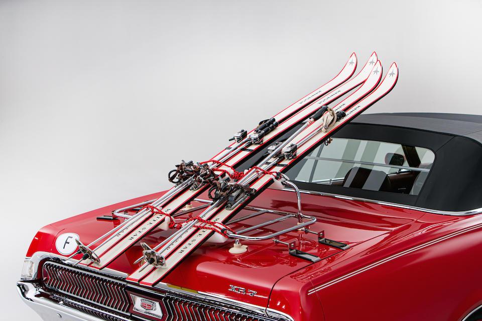Mercury Cougar Bond skis