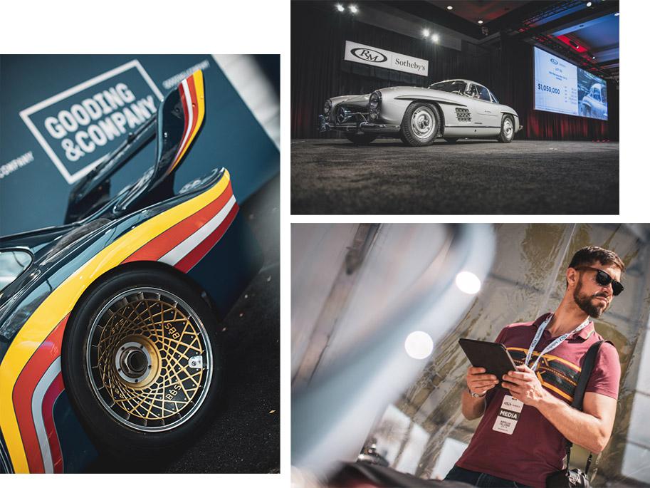 Mercedes 300SL Gullwing and Porsche 935