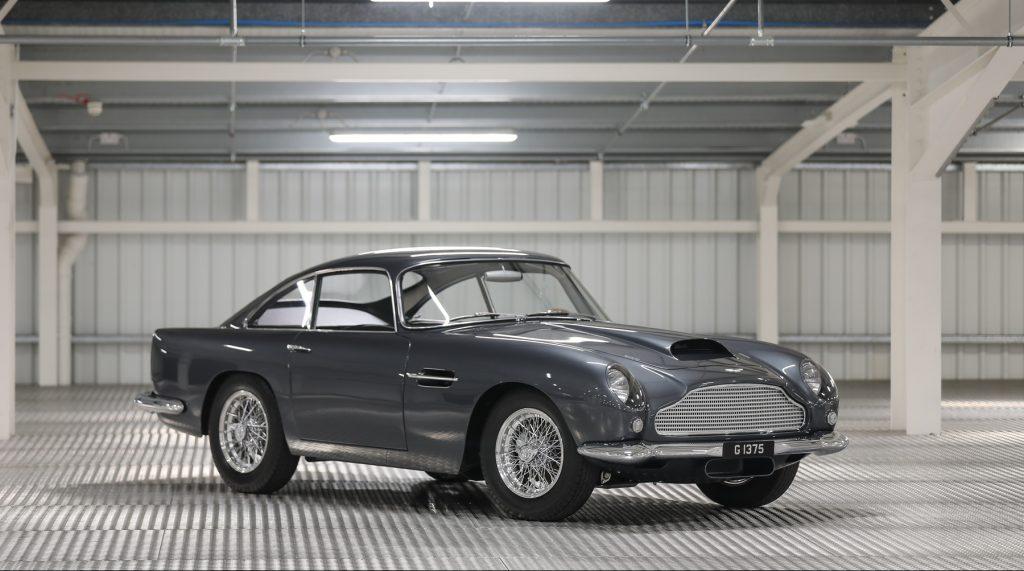 Aston Martin DB4 GT Front