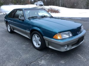 1993 mustang gt front